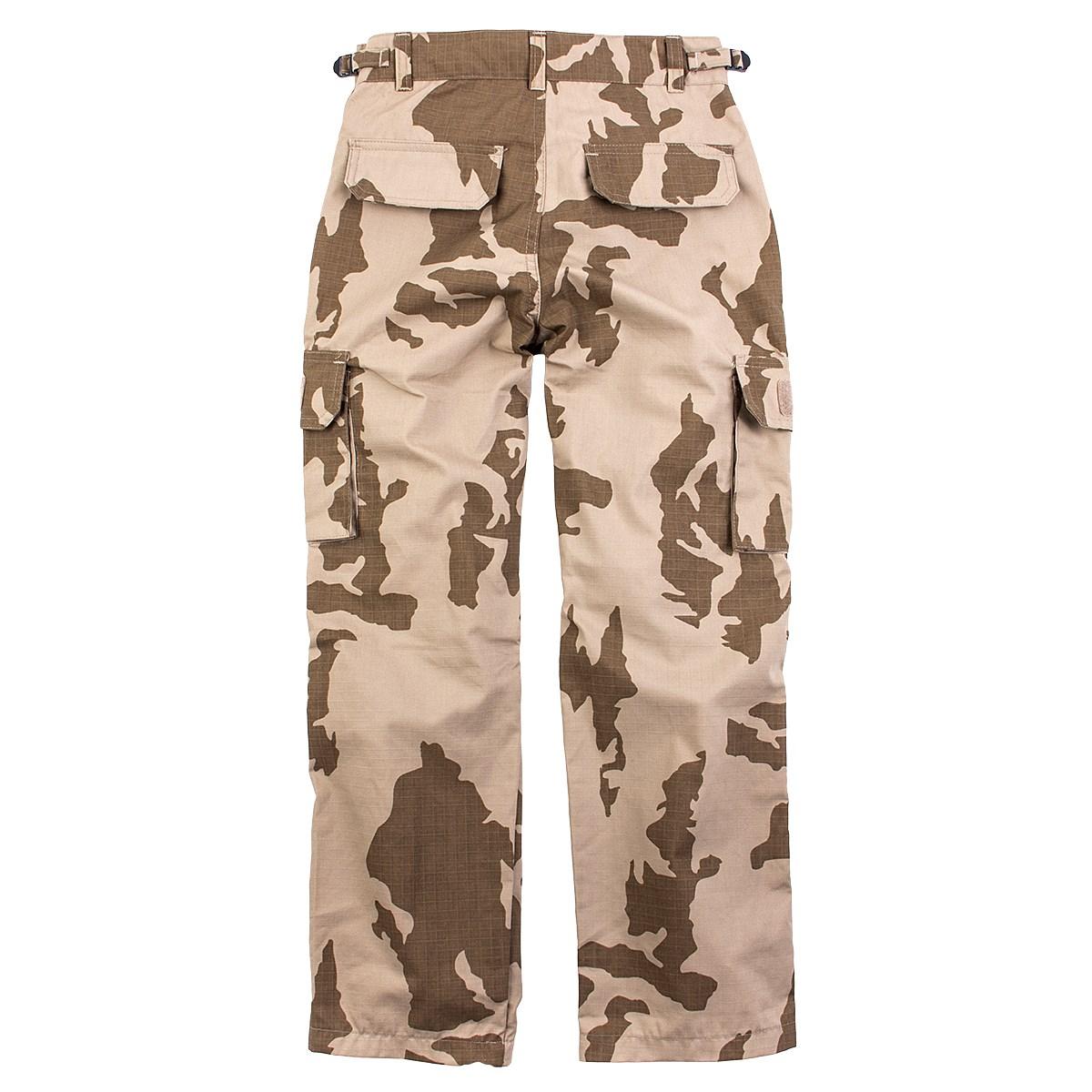 Kalhoty dětské rip-stop vz.95 DESERT MILITARY RANGE 470286D L-11