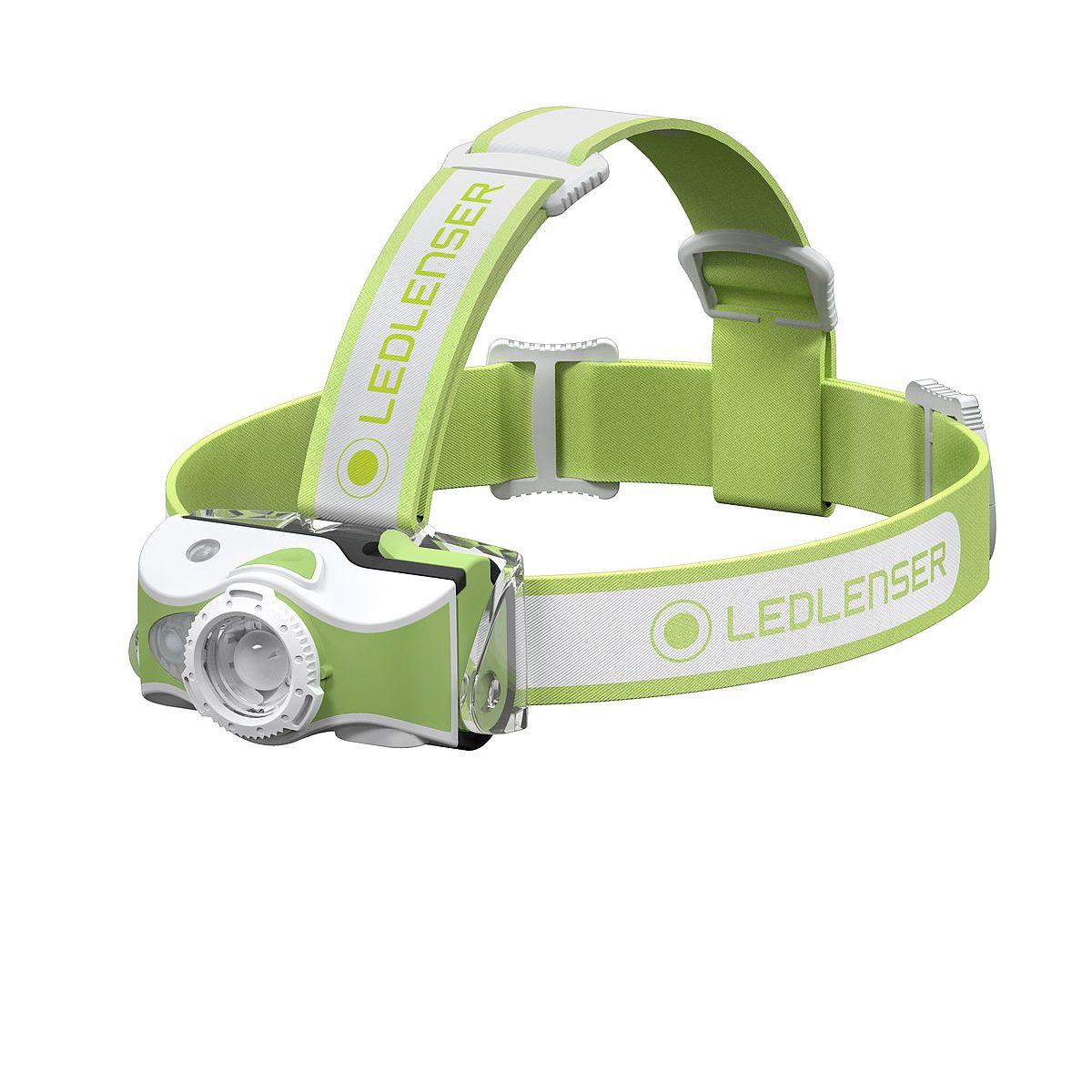 LED LENSER® | Svítilna čelová MH7 ZELENÁ
