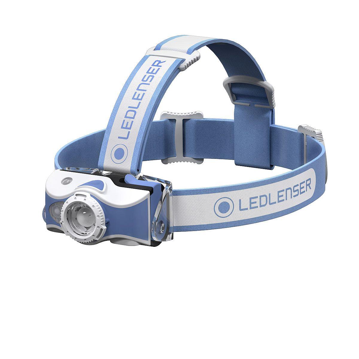 LED LENSER® | Svítilna čelová MH7 MODRÁ