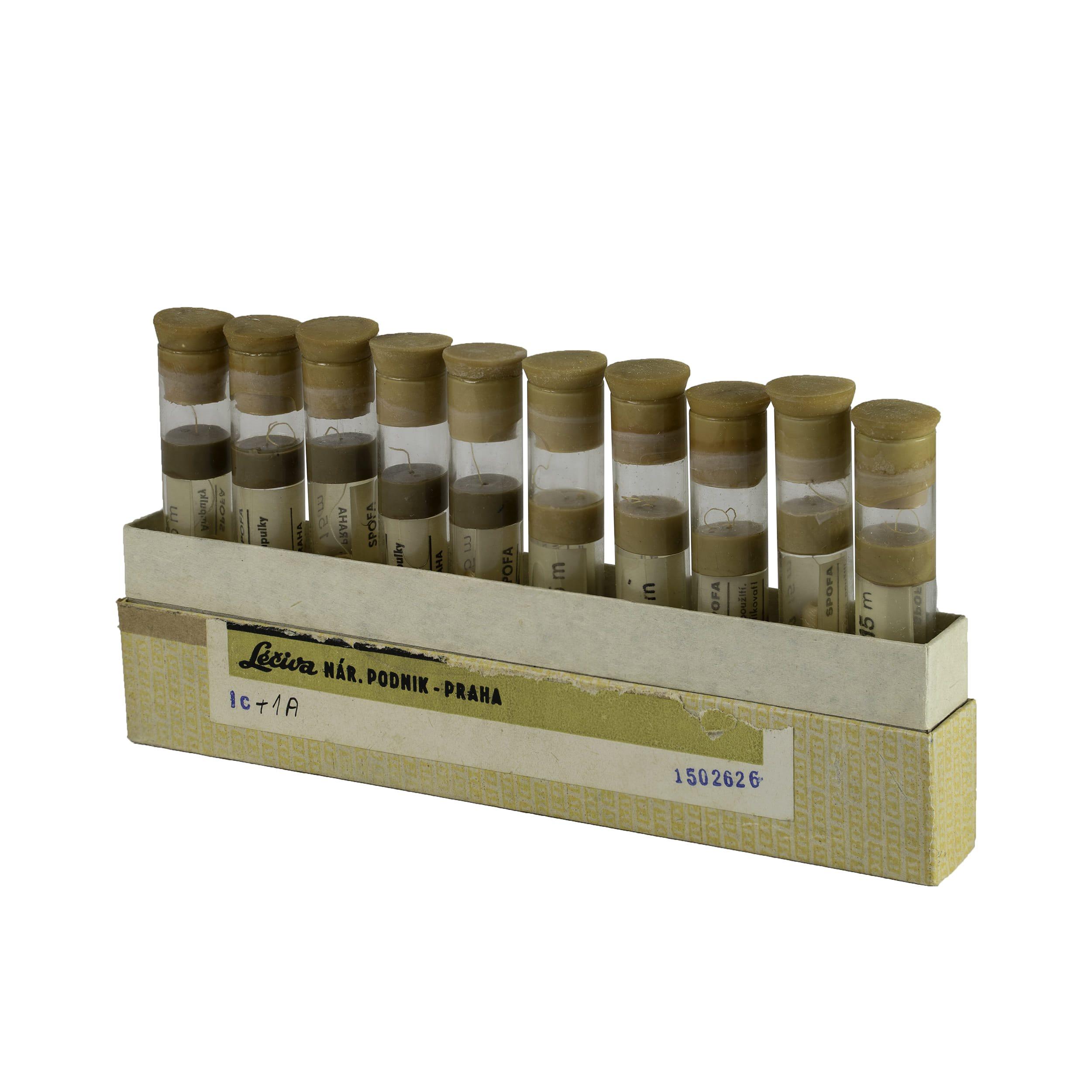 Hedvábí sterilní skané vlákno v konzervačním roztoku 10 rourek  502626 L-11