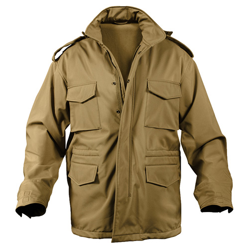 ROTHCO | Bunda US M65 SOFTSHELL COYOTE