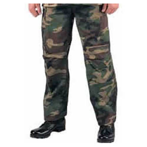 ROTHCO | Kalhoty BDU rip-stop WOODLAND vel.L-S