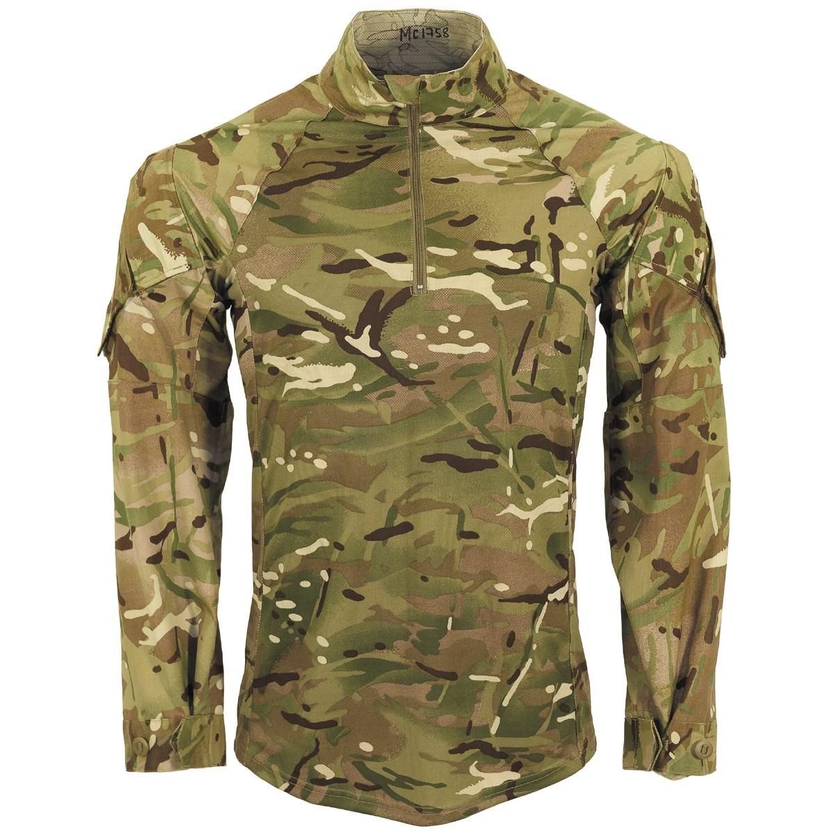 "Košile taktická britská UBAC ""Armour"" MTP CAMO original Armáda Britská 602276 L-11"