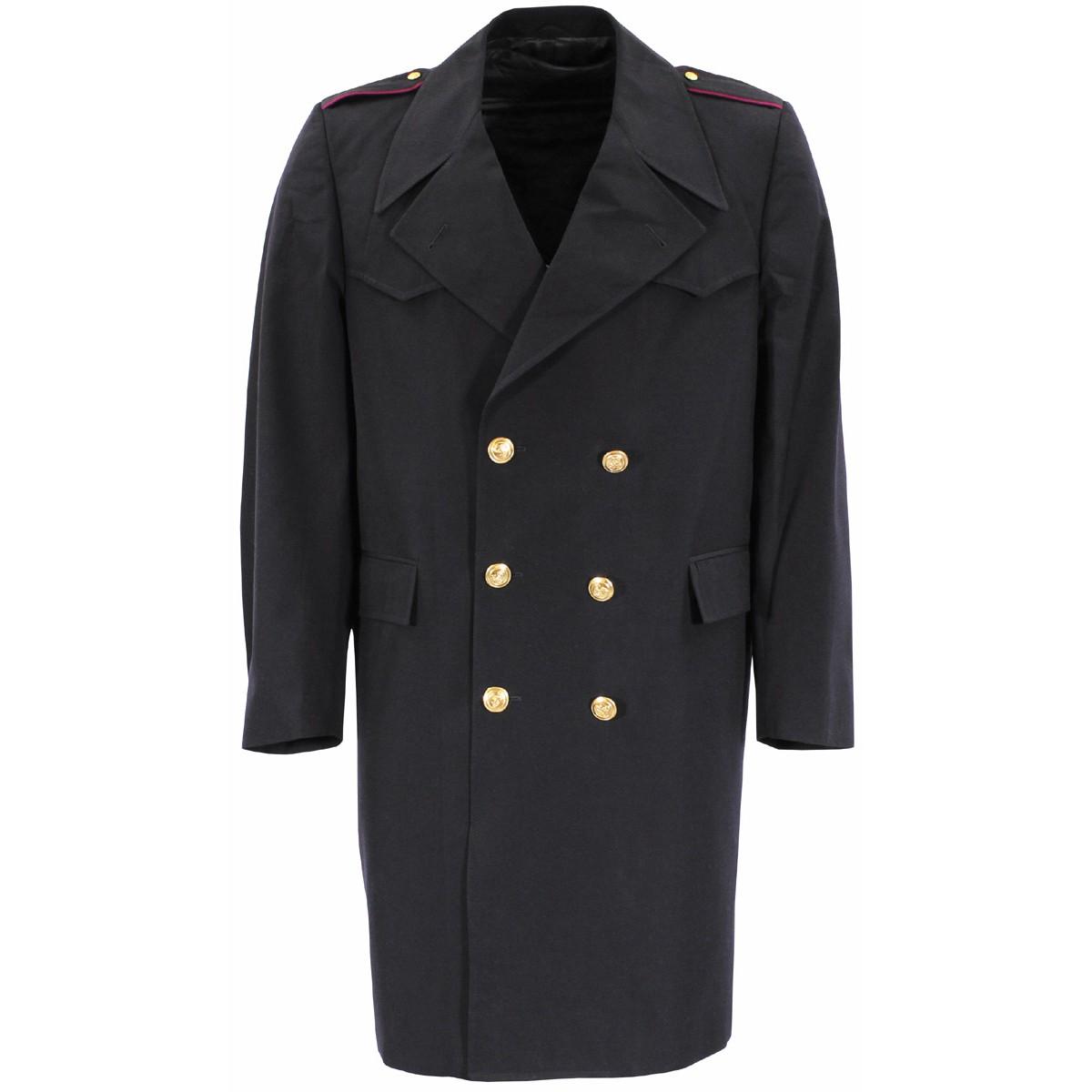 Kabát italský MARINE dvouřadé zapínání MODRÝ Armáda Italská 609240 L-11
