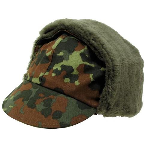 Bundeswehr | Čepice BW zimní original FLECKTARN vel.58