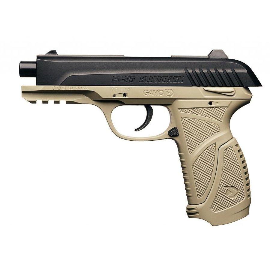 Pistole vzduchovka Gamo PT 85 BLOWBACK DESERT GAMO 6111380 L-11