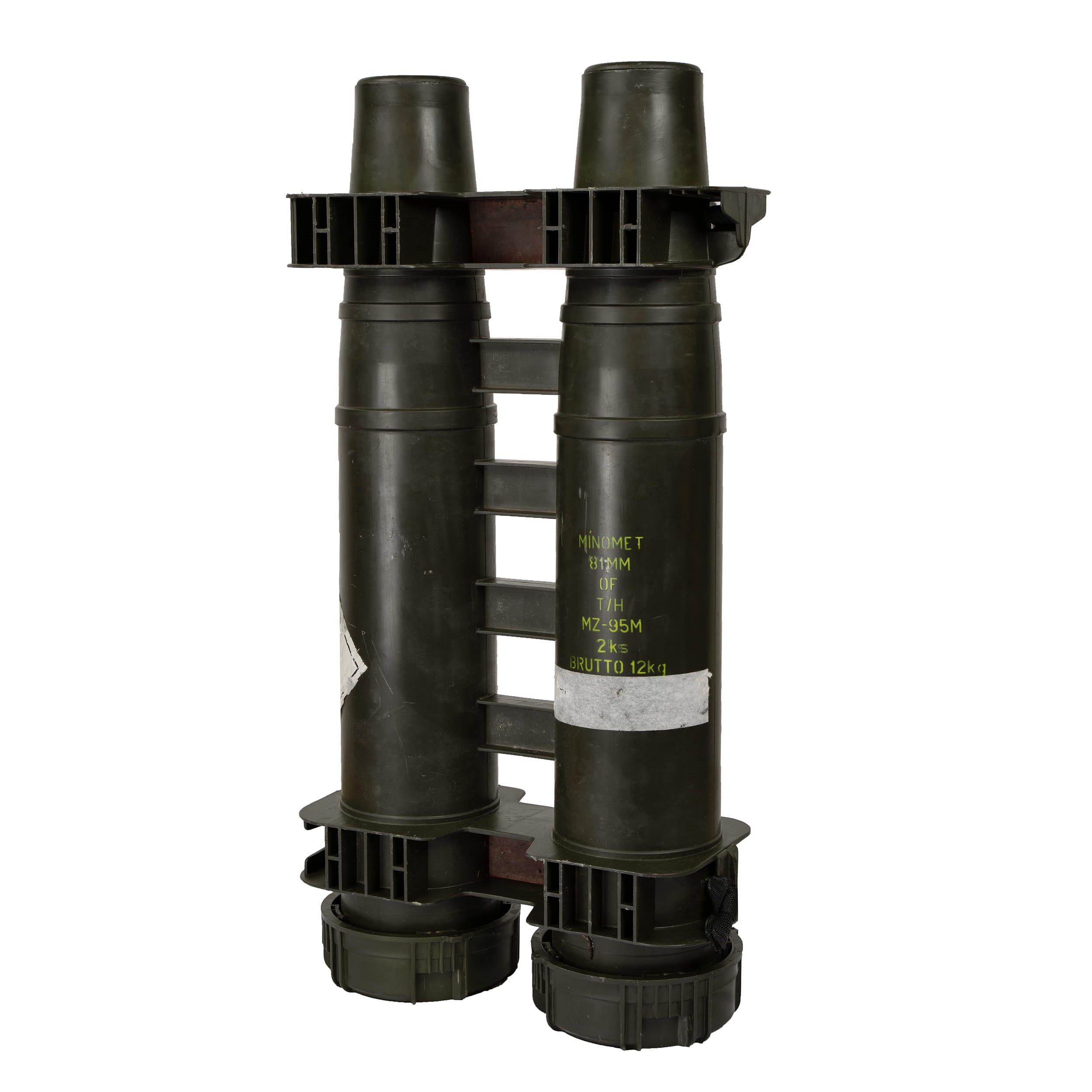 Pouzdro vodotěsné pro dva MINOMETY 81MM plastové  620081 L-11