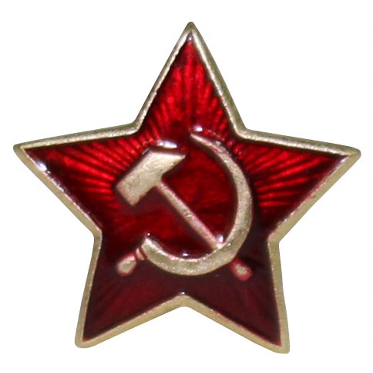 Odznak ruský hvězda /srp a kladivo/ velký Armáda Ruská 1620025 L-11