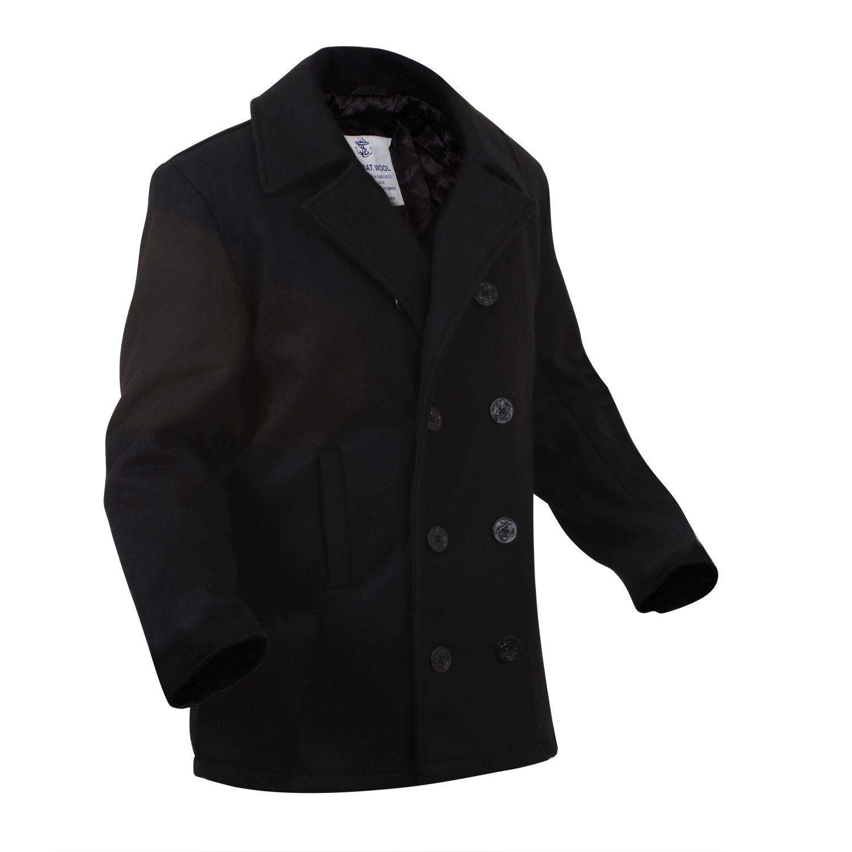 Kabát US NAVY ULTRA FORCE ČERNÝ ROTHCO 7070 L-11