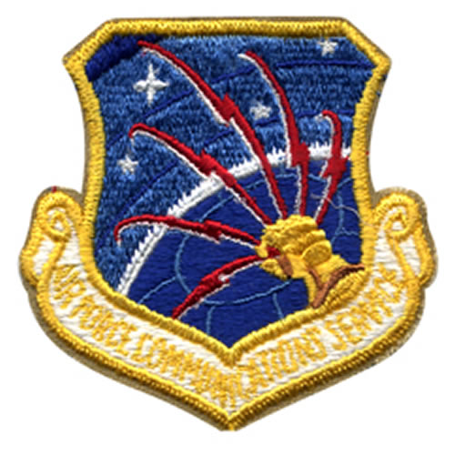 Nášivka USAF COMMUNICATION SERVICE