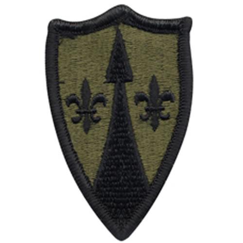 Nášivka US THEATER ARMY SPT CMD EUROPE