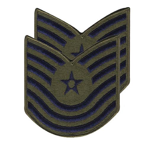 Nášivka USAF MASTER SERGEANT 1986-1992 OLIV