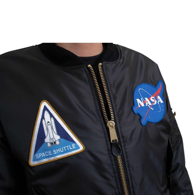 Bunda MA1 FLIGHT NASA ČERNÁ ROTHCO 7328 L-11
