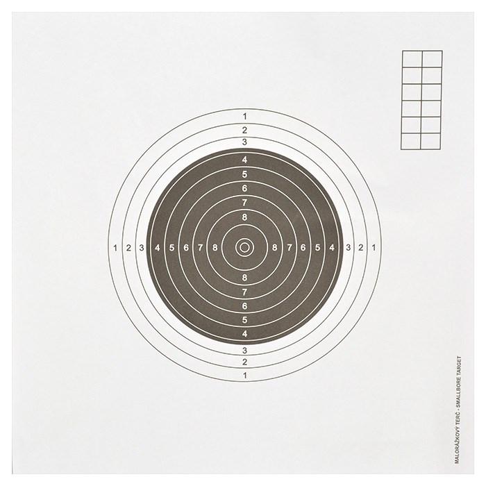 Terč malorážka mezinárodní 270x270 mm