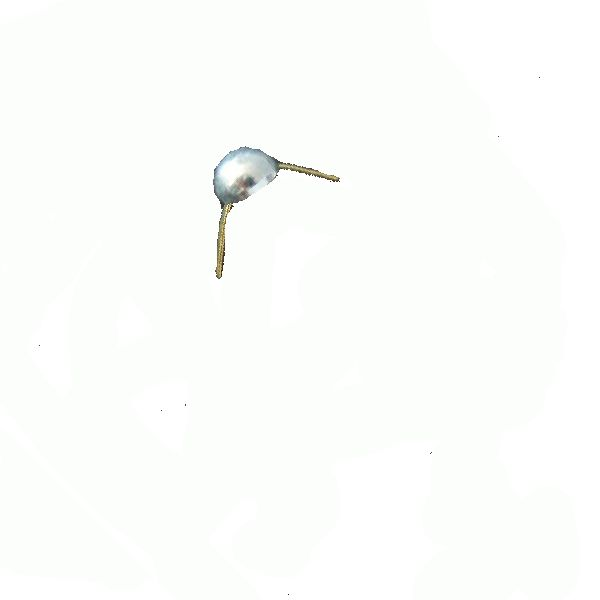Odznak AČR hodnost pecka stříbrná lesklá 8mm