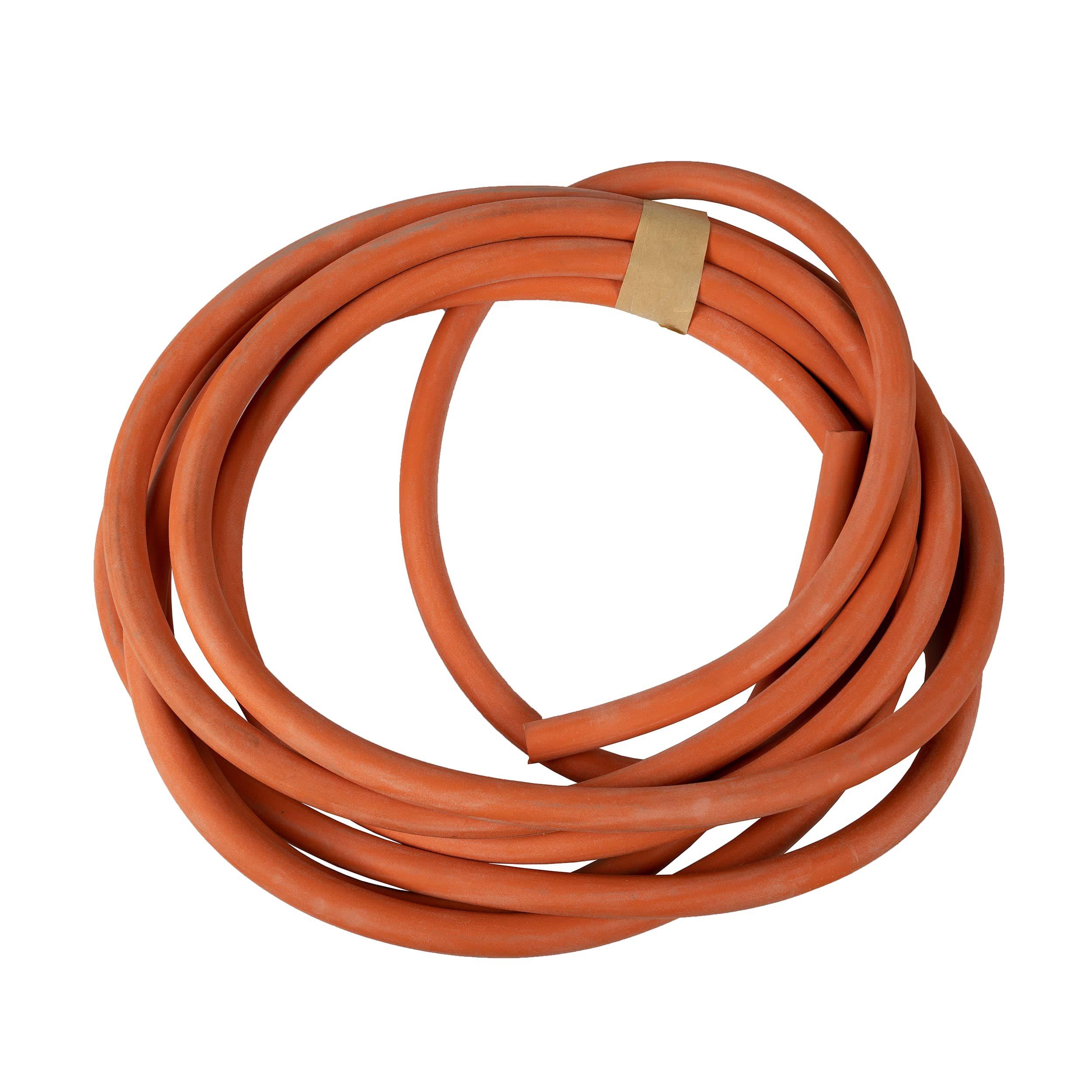 Hadice gumová oranžová 12mm x 4,5m