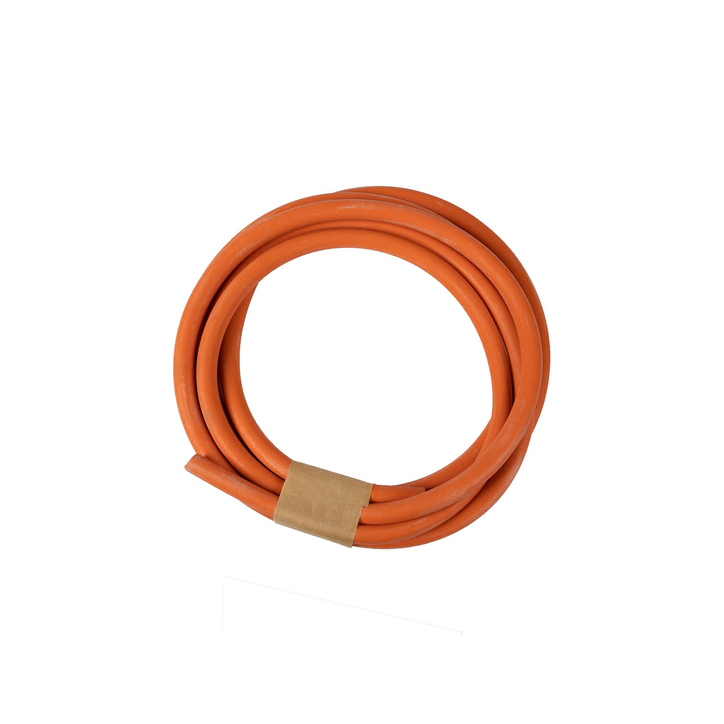 Hadice gumová oranžová 8mm x 2m