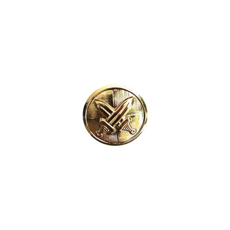 Knoflík AČR se znakem malý 14mm ZLATÝ