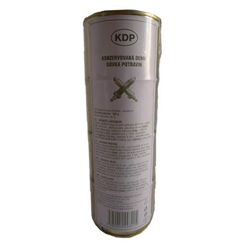 Potravinová konzervovaná dávka potravin KDP
