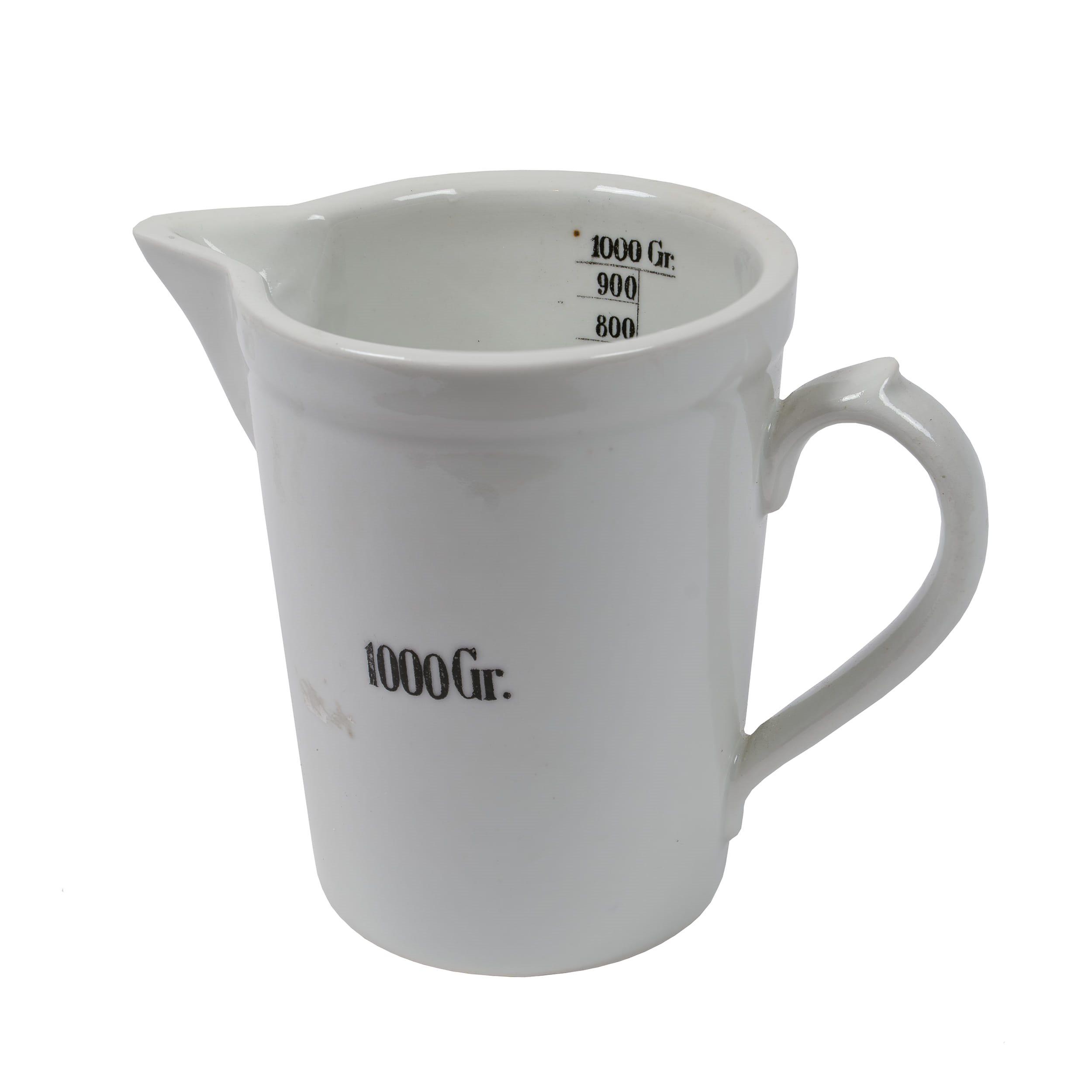 Odměrka porcelánová lékárénská 1000 ml  8202974 L-11