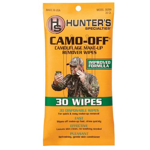 Ubrousky čistící na kamuflážní barvy CAMO-OFF bal.30ks