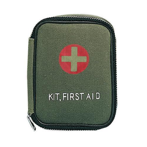 Lékárnička první pomoci M-1 s vybavením ZELENÁ