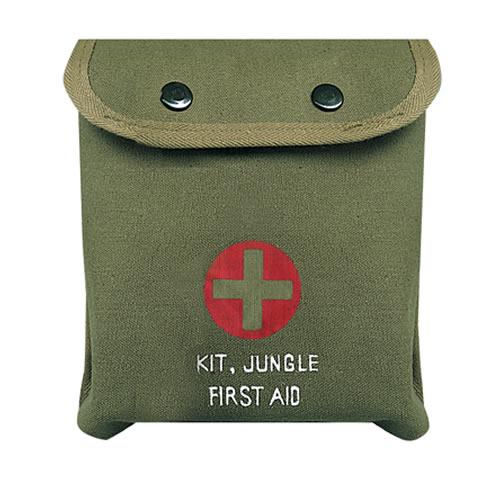 Lékárnička první pomoci M-1 JUNGLE ZELENÁ s křížem