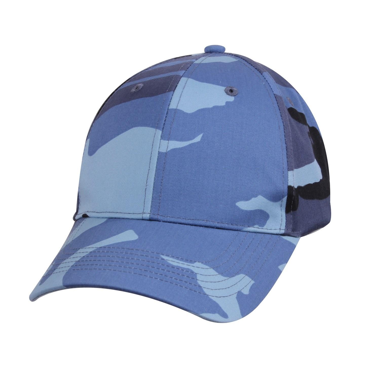 Čepice baseball Supreme Low SKY BLUE CAMO ROTHCO 8588 L-11