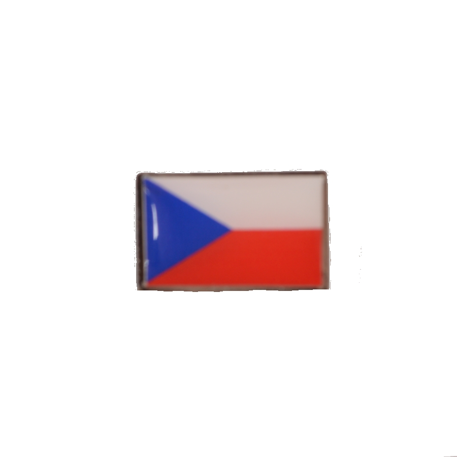 Odznak vlajka ČR malá