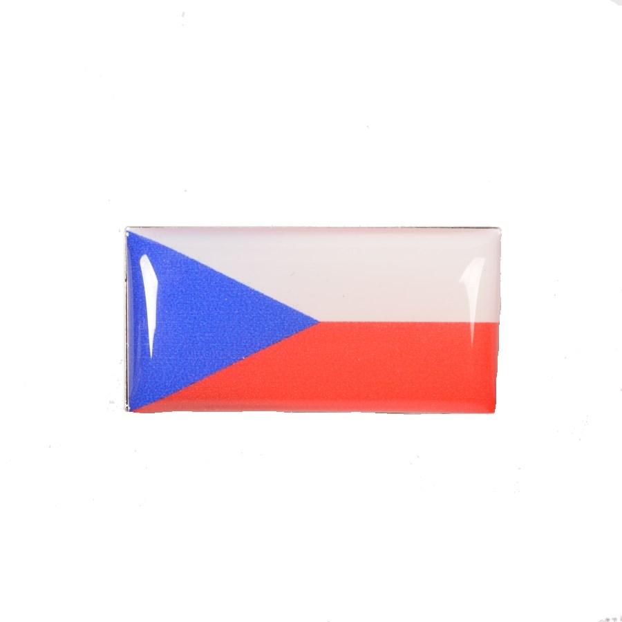 Odznak vlajka ČR