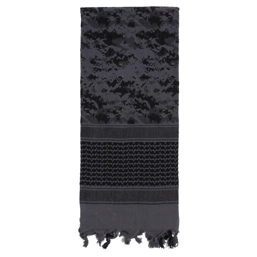 Šátek SHEMAGH 107 x 107 cm DIGITAL URBAN ROTHCO 88539 L-11