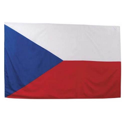 Vlajka na tyčce ČESKÁ REPUBLIKA 30x45cm
