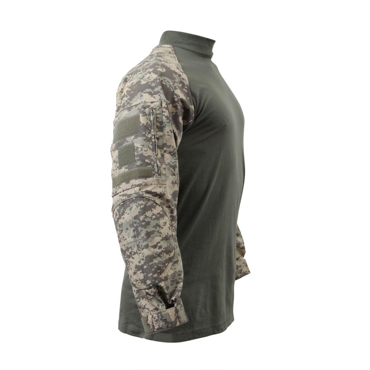 Košile COMBAT taktická ACU DIGITAL ROTHCO 90000 L-11