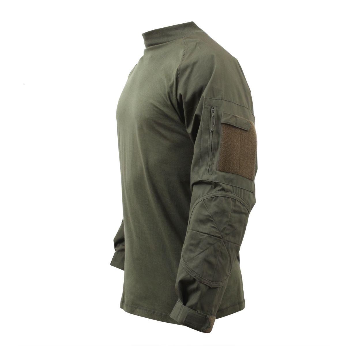 Košile COMBAT taktická ZELENÁ ROTHCO 90015 L-11