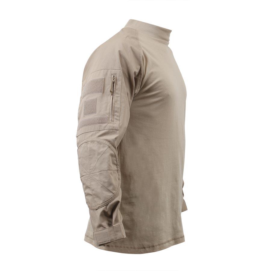 Košile COMBAT taktická DIGITAL DESERT ROTHCO 90020 L-11