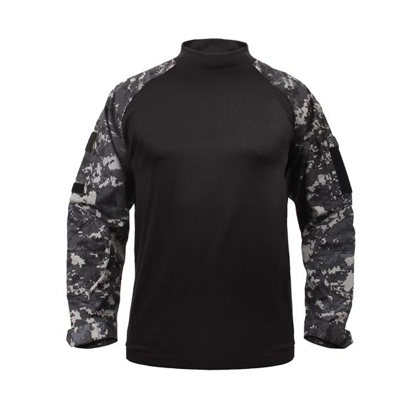 Košile COMBAT taktická DIGITAL URBAN ROTHCO 90115 L-11