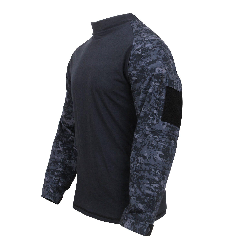Košile COMBAT taktická MIDNIGHT DIGITAL ROTHCO 90215 L-11
