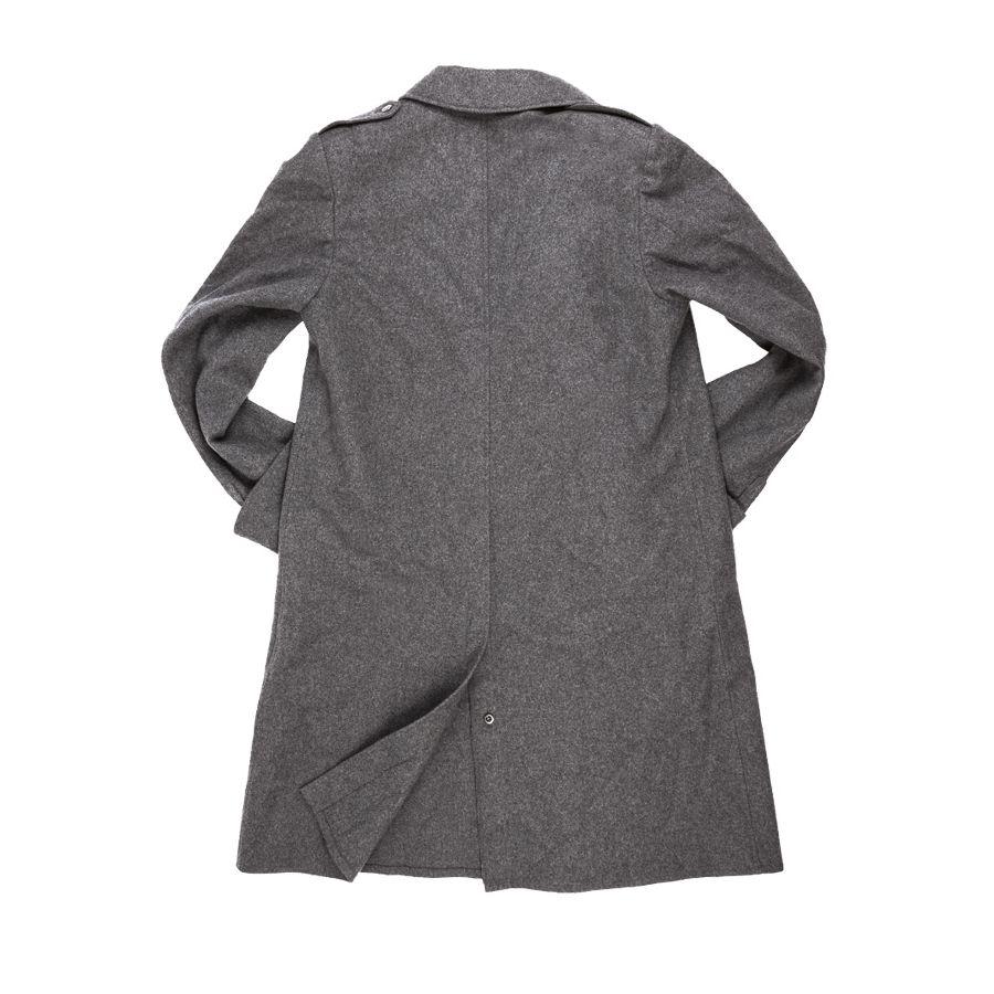 Kabát švýcarský vlněný dvouřadé knoflíky Armáda Švýcarská 91016330 L-11