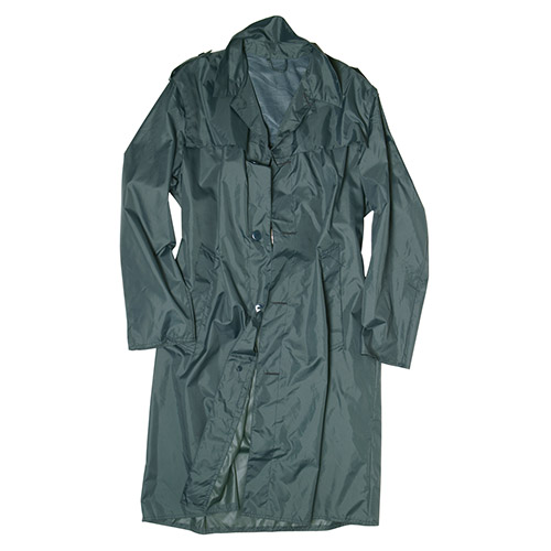 Kabát švýcarský do deště ŠEDOZELENÝ použitý Armáda Švýcarská 91064400 L-11