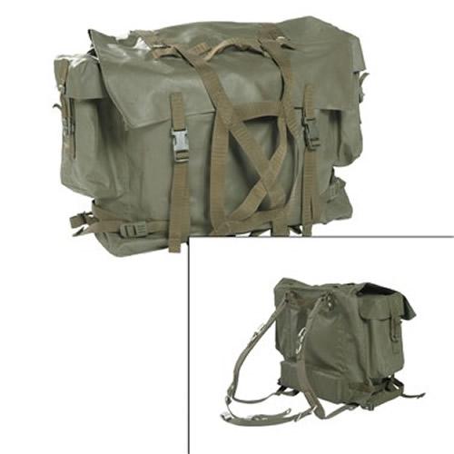 Batoh švýcarský M90 gum. ZELENÝ