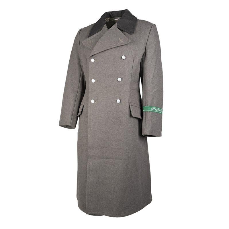 Kabát NVA k uniformě vlněný použitý Armáda NVA/DDR 91880106 L-11