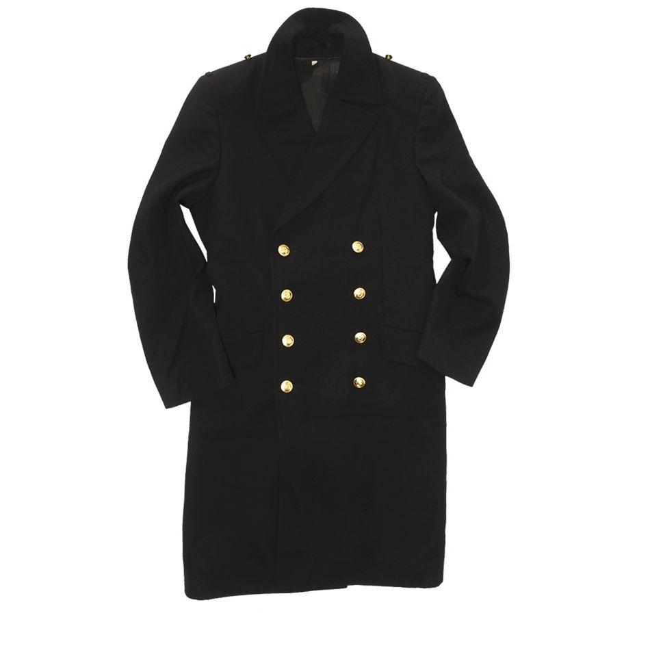 Kabát NAVY BW se zlatými knoflíky MODRÝ Bundeswehr 91880135 L-11