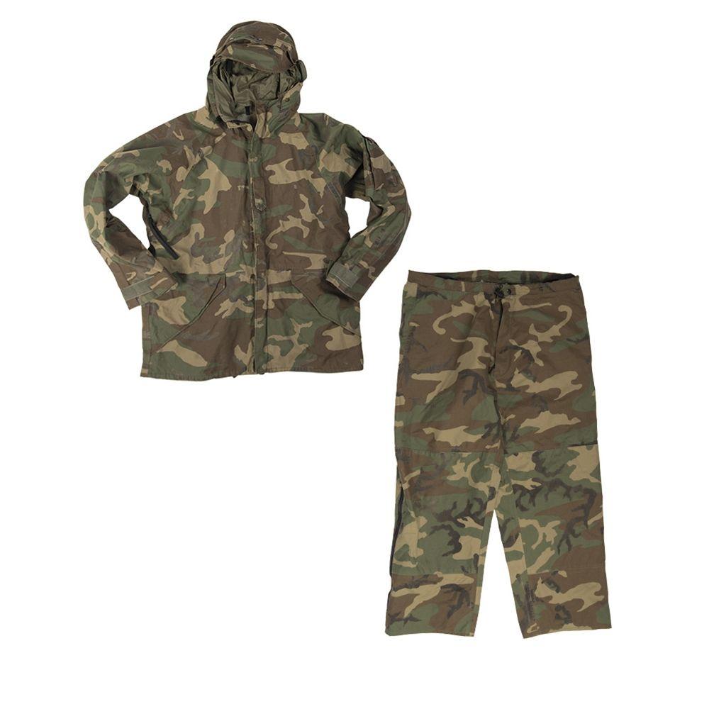 Oblek US nepromokavý GORETEX WOODLAND použitý Armáda U.S. 91880623 L-11
