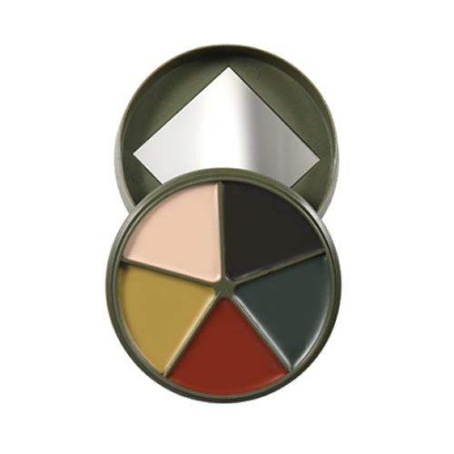Barvy maskovací se zrcátkem US 5 barev