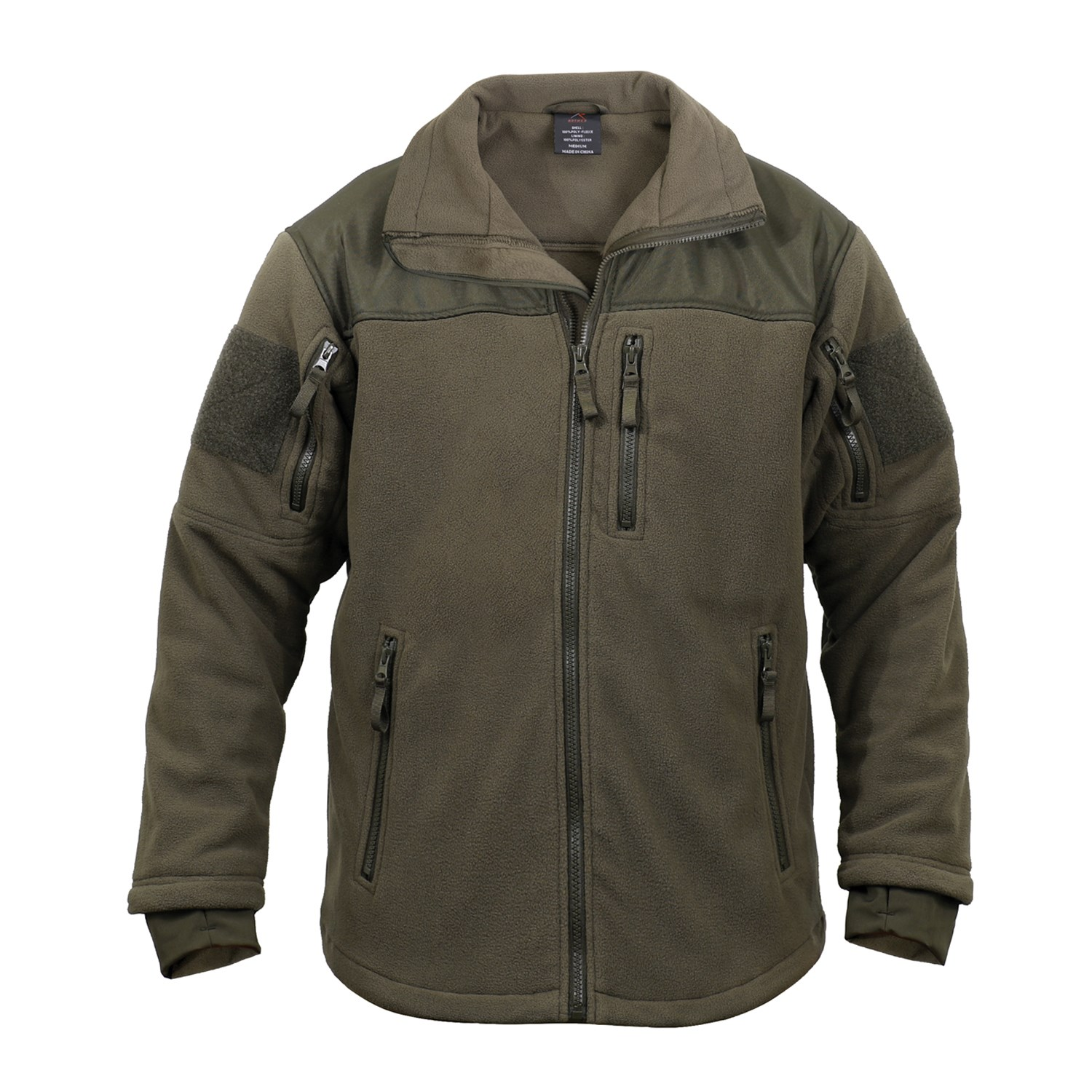 Bunda SPEC OPS fleece ZELENÁ ROTHCO 96675 L-11