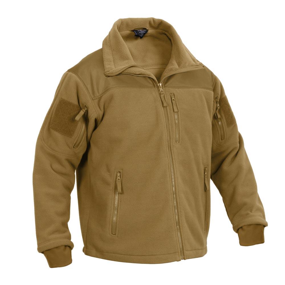 Bunda SPEC OPS fleece COYOTE ROTHCO 96680 L-11