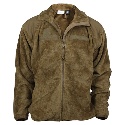 Bunda fleece GEN III/LEVEL 3 ECWCS COYOTE ROTHCO 9734 L-11