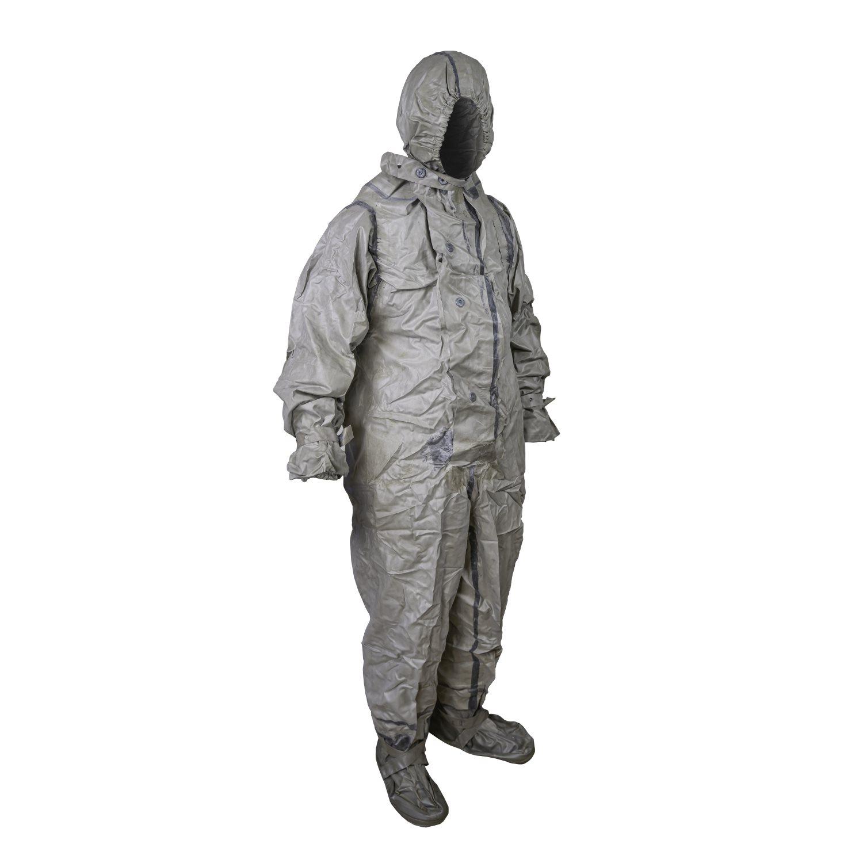 Oblek protichemický NVA ŠEDÝ Armáda ČR 981402 L-11