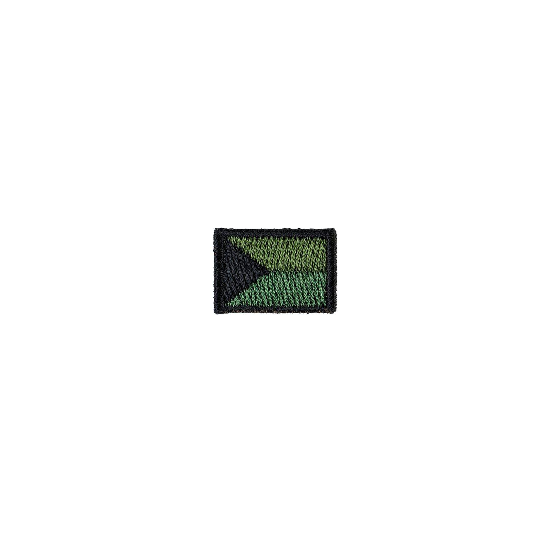 Nášivka ČR vlajka mini ZELENÁ (27mm)