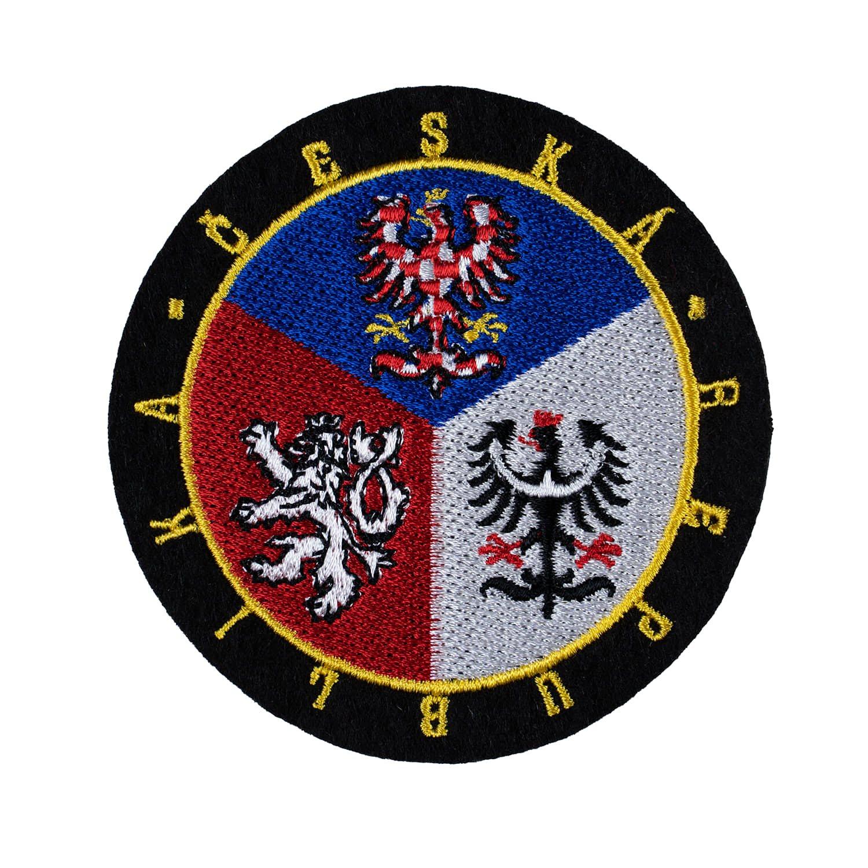 Nášivka Česká republika KRUH - BAREVNÝ